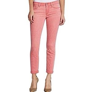Jessica Simpson Pink Forever Skinny Crop Size 32
